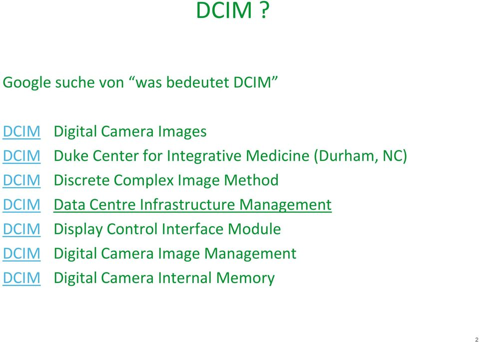 Discrete Complex Image Method Data Centre Infrastructure Management Display