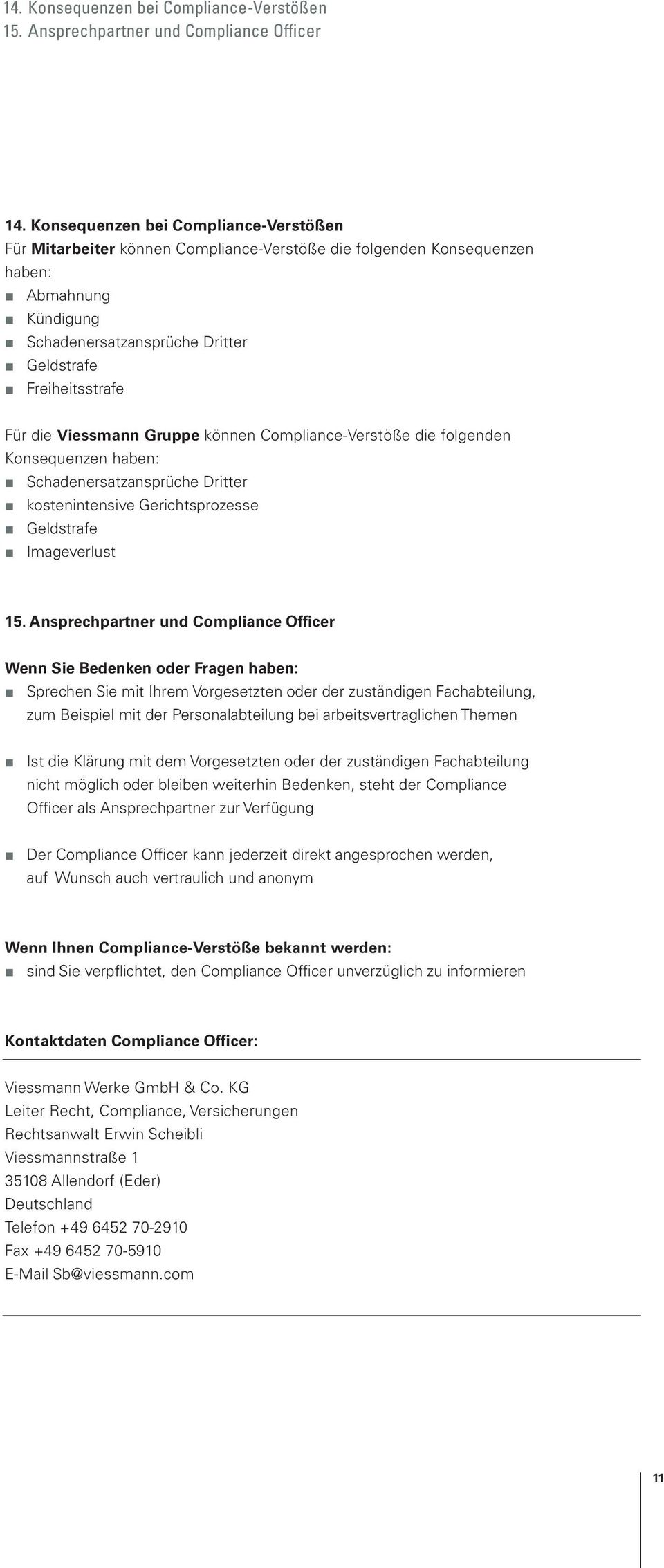 Compliance Management System Der Muster Ag Pdf Free Download 11