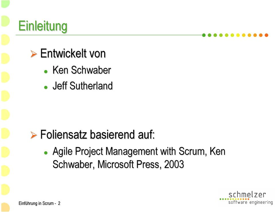 Project Management with Scrum,, Ken
