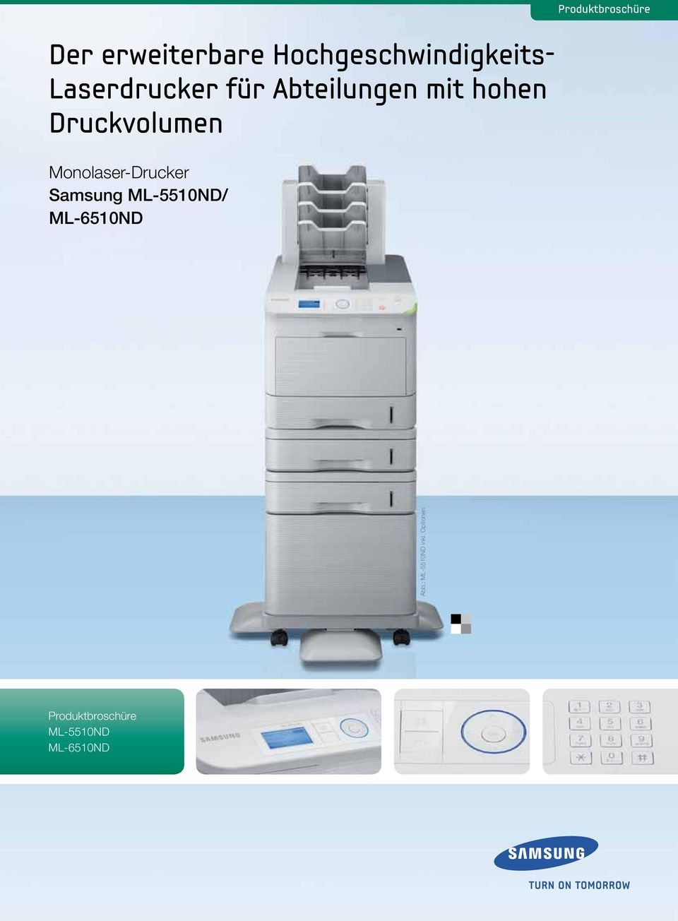 Monolaser-Drucker Samsung ML-5510ND/ ML-6510ND Abb.