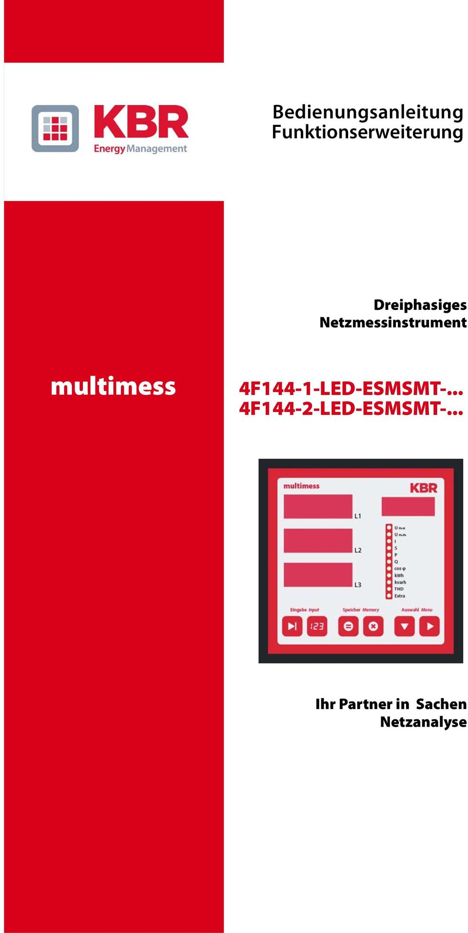 multimess 4F144-1-LED-ESMSMT-.