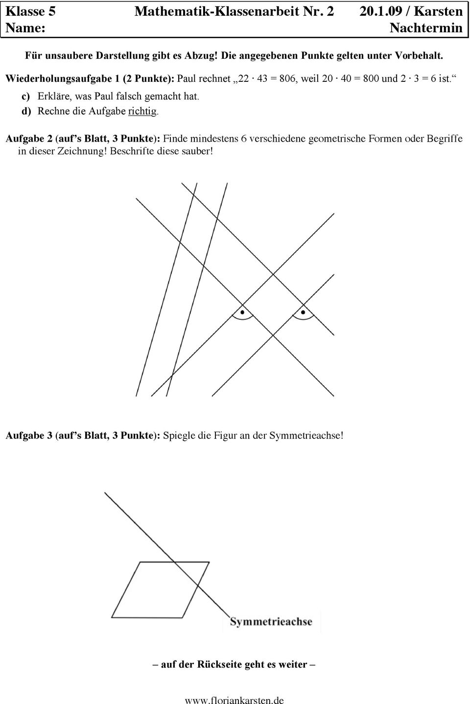 Unique Math Fakten Einer Tabelle 3Klasse Illustration - Mathe ...