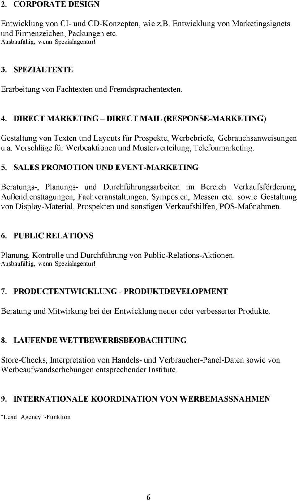 direct marketing direct mail response marketing gestaltung von texten und layouts fr prospekte - Verschwiegenheitserklrung Muster