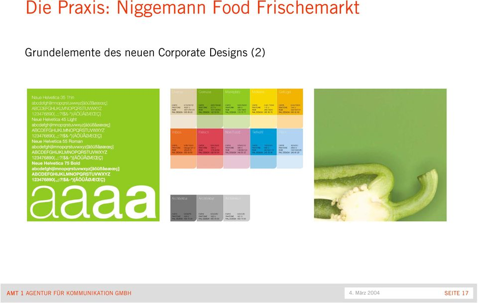 neuen Corporate Designs (2) AMT 1
