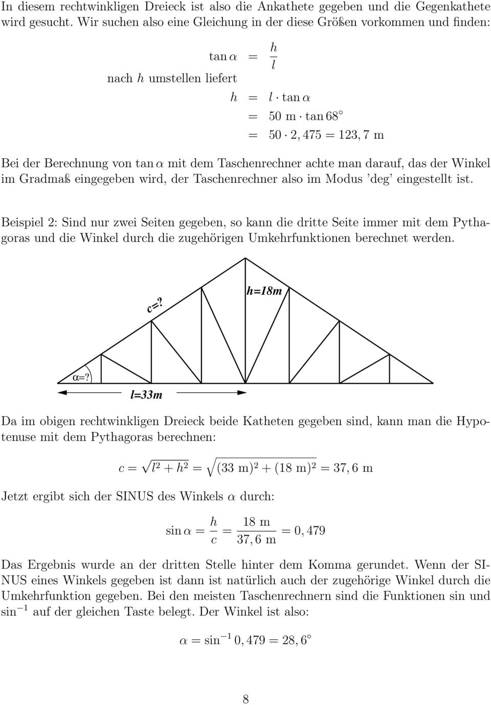 Winkelfunktionen. Dr. H. Macholdt. 21. September PDF