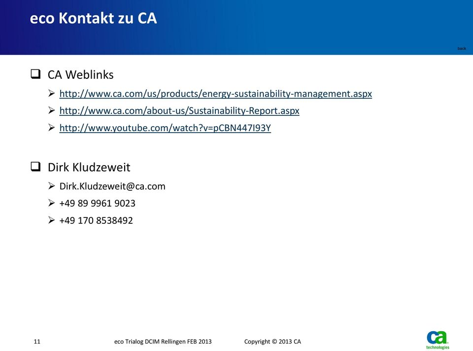 com/about-us/sustainability-report.aspx http://www.youtube.com/watch?