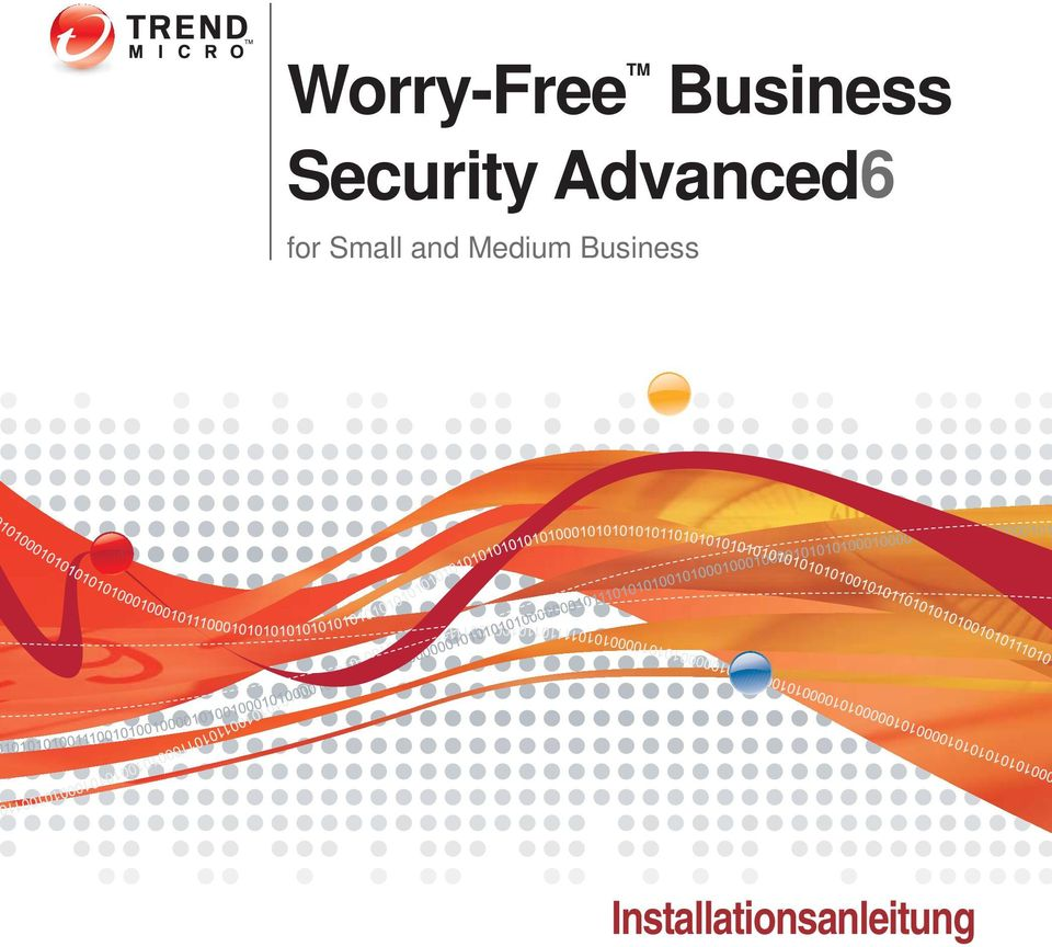 Worry-Free TM Business Security Advanced6 - PDF