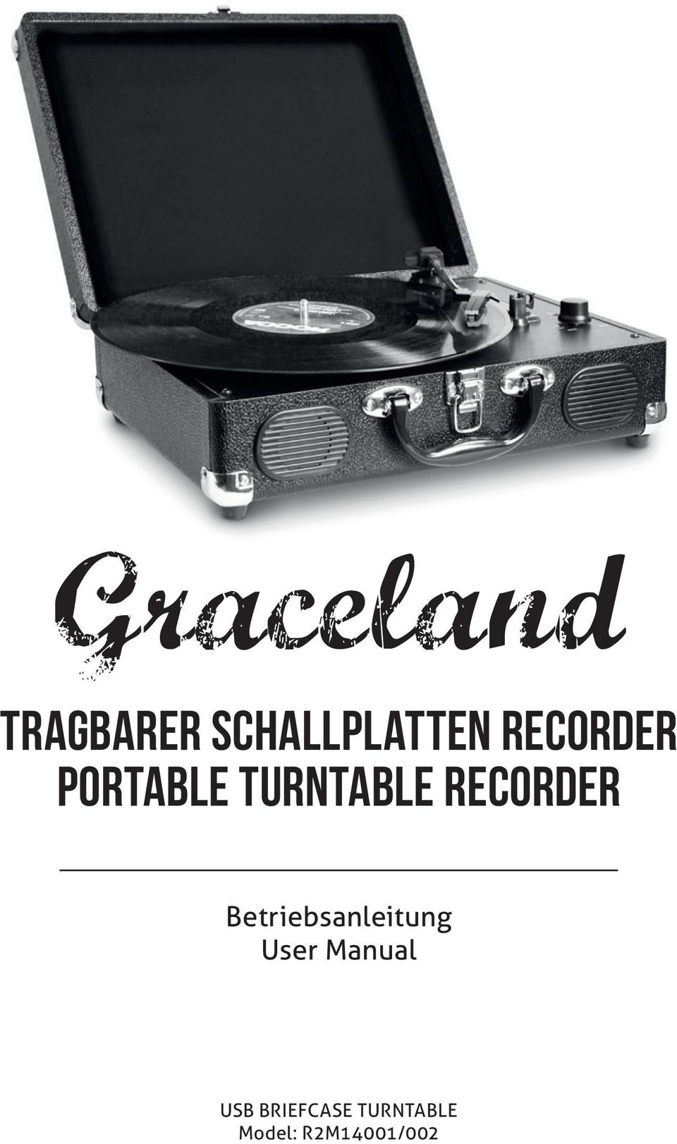Graceland Tragbarer Schallplatten Recorder Portable Turntable Paket Ebook Tc Learning Management System Betriebsanleitung User