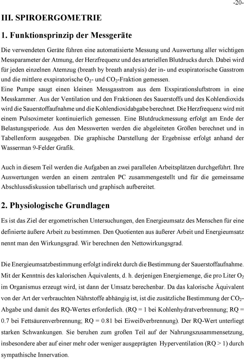 INSTITUT FÜR PHYSIOLOGIE - PDF