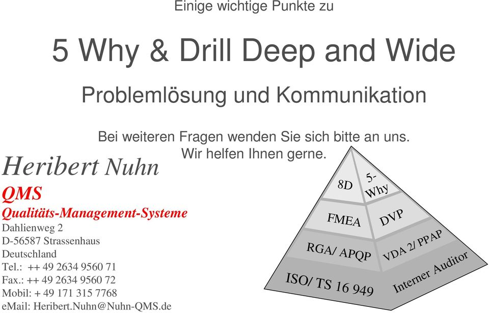 5 Why & Drill Deep and Wide - PDF