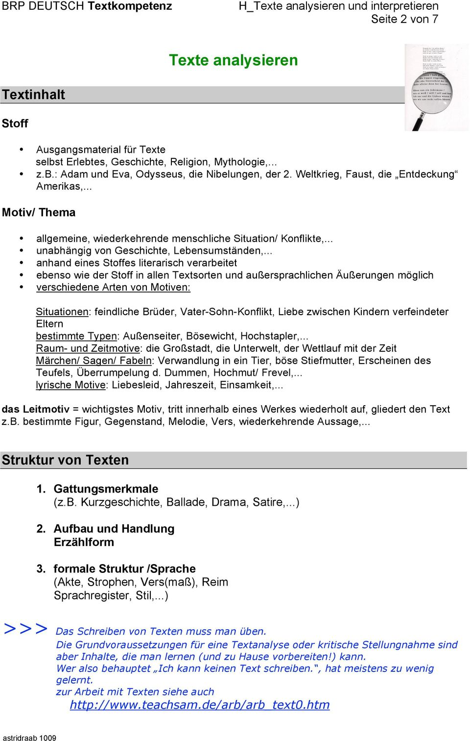 Texte Analysieren Und Interpretieren Pdf