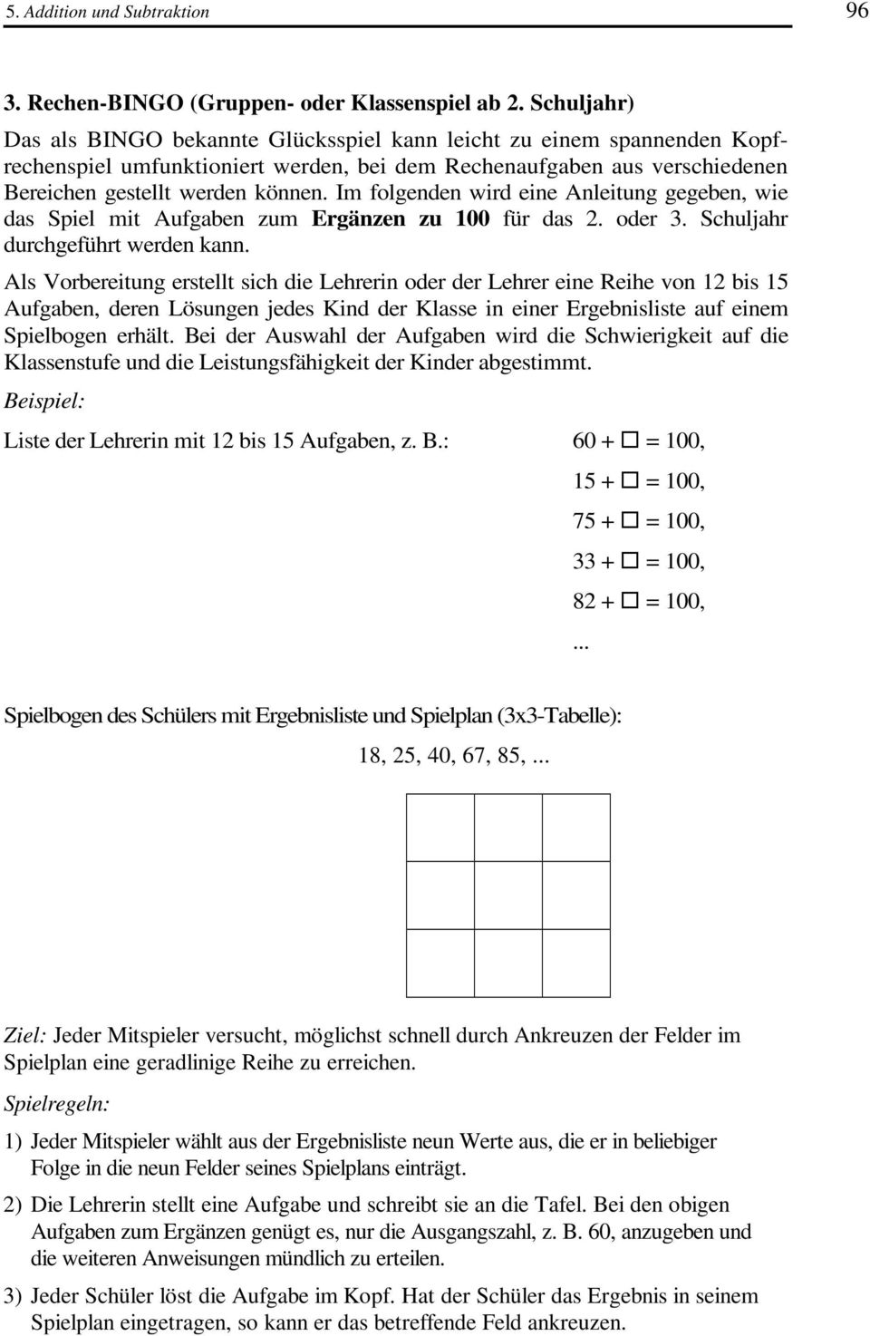 5. Addition und Subtraktion - PDF