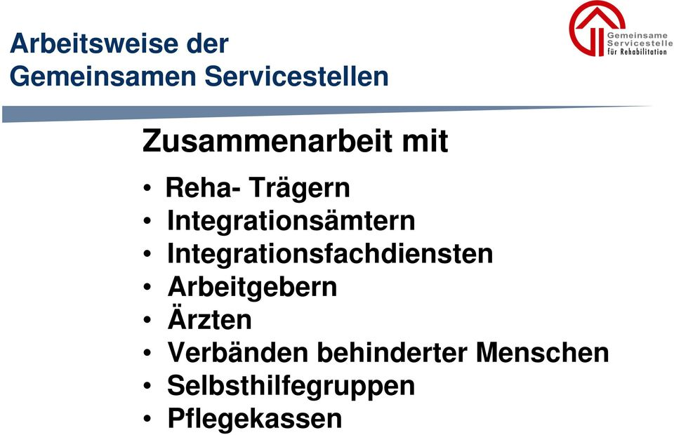 Integrationsämtern Integrationsfachdiensten