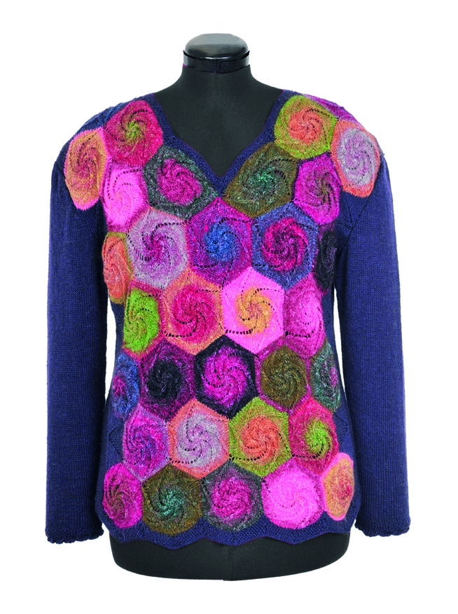 Swirl Hexagon Pullover Pdf