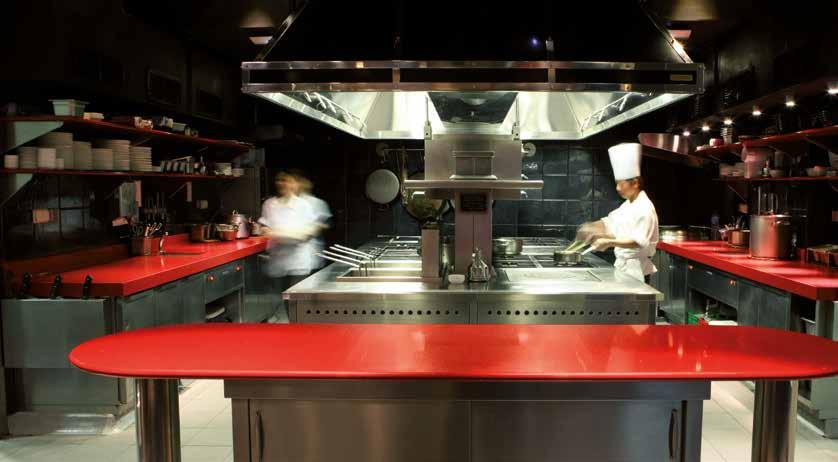 Cosentino Contract. Hotels Gastronomie Franchising Mobiliar ...