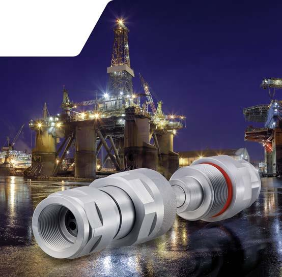 20S Tube Fitting M30x2 Male Thread Holmbury HS12-1-S2030 Screw Connect Poppet Coupling 12 Female Body HS Series 3 ID 3 ID Holmbury Inc