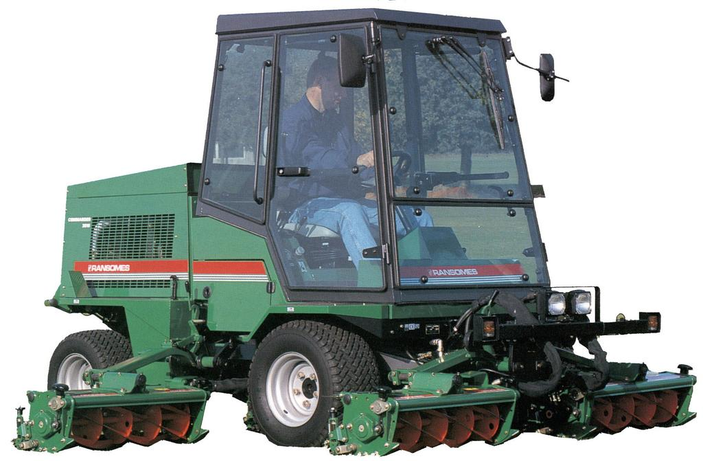 RANSOMES  Parts Manual  Commander 3510 RANSOMES  Series: VB