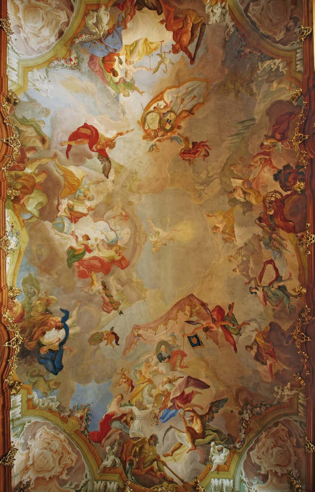 Baroque Ceiling Painting in Central Europe Barocke Deckenmalerei in ...