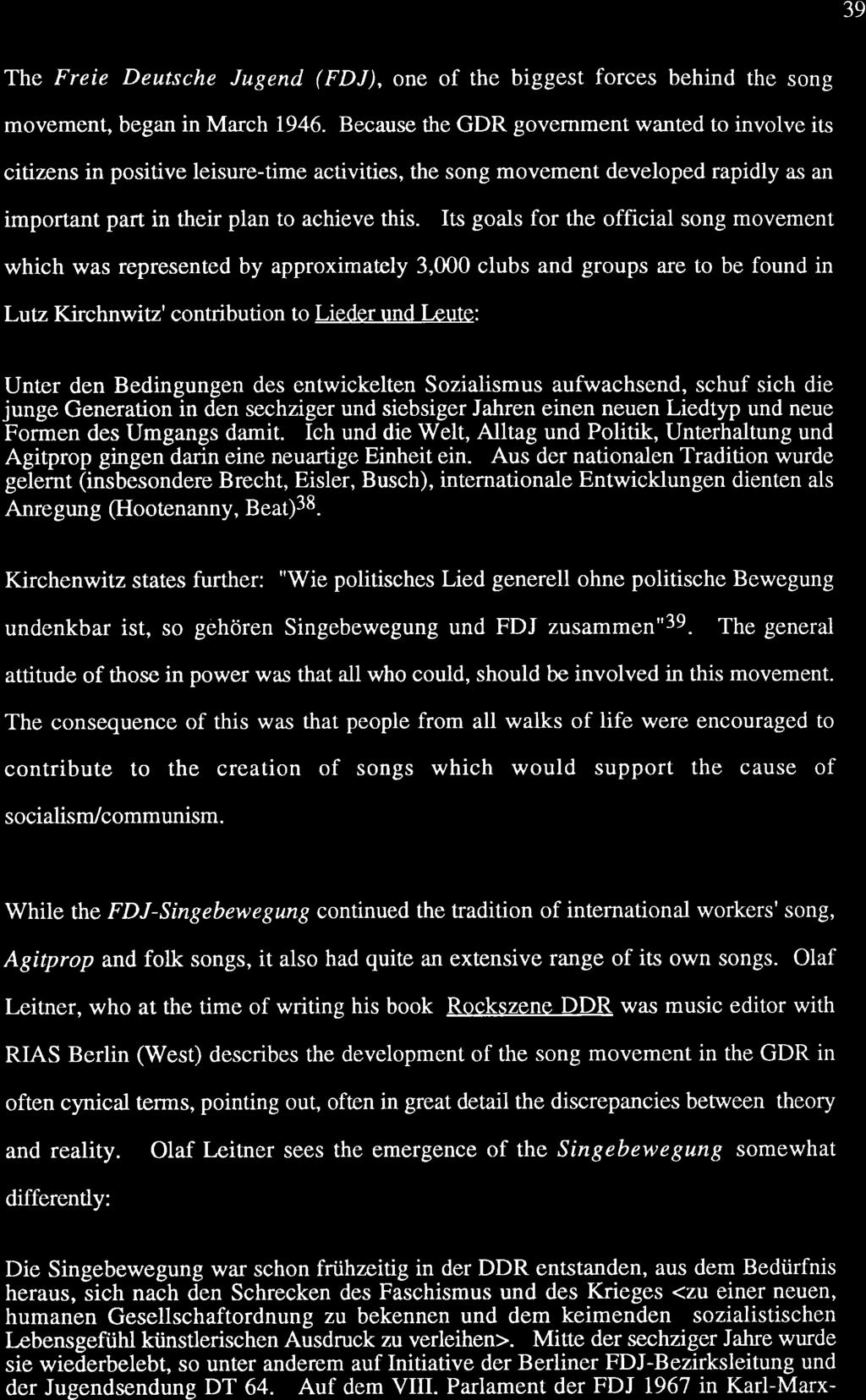 a a l. A Legacy Of Hope. Critical Songs Of The GDR   PDF Free Download