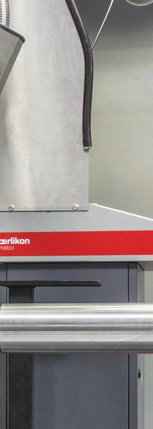 The Simple Choice for a Perfect Surface Why should you choose Oerlikon Metco as your single source supplier for your laser cladding solutions?