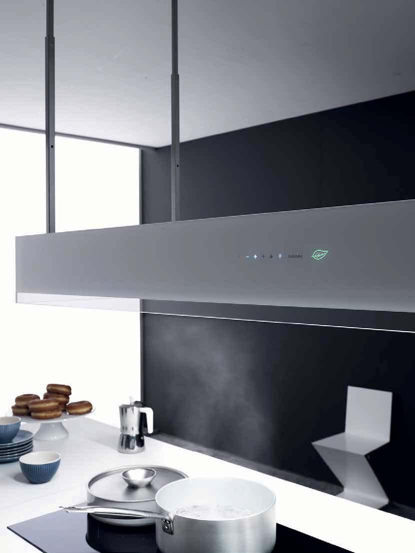 Montaggio Cappa Falmec Nuvola beautiful innovation for your kitchen. e.ion system circle